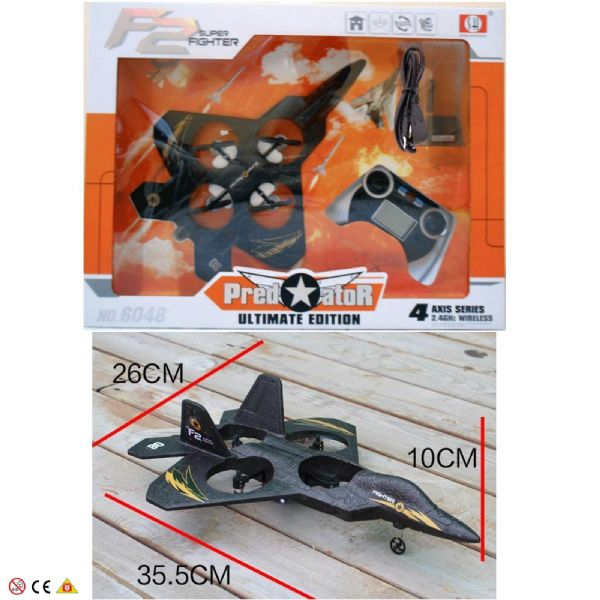 F2 Super Fighter Predator toy Ultimate Edition RTO8 2.4GHz 4 Channel 14+ Years